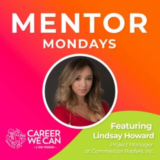 Start your Monday with some mentorship and check out the newest installment of our Career We Can virtual interview series on IGTV and YouTube. 🎥 In this installment we talk to Lindsay Howard about her career journey as a Project Manager for Commercial Roofers. She shares some great insights into this profession and tells us about her work on some of the biggest construction projects throughout Las Vegas. Link in bio! #MentorMondays