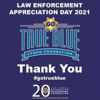 "Today, January 14th, we join businesses and organizations from across our community in coming together to salute heroes and first responders in our LVMPD. 👮‍♂️👮 Later this month, as part of the inaugural ""Go True Blue Month,"" we will be partnering with LVMPD Foundation and the Raiders Foundation to host a roundtable discussion for our Scholars. The focus will be on community policing as it relates to equity, justice, and race. Community building starts with communication, and we are looking forward to this opportunity for our Scholars to not only listen and learn, but ask questions and share their viewpoints. 💭 Thank you to all of the heroes in our community (shout out to our own CORE Community recent Police Academy grad - Officer Anthony Delgado!) 🚓 @lvmpd @lvmpdfoundation #gotrueblue"
