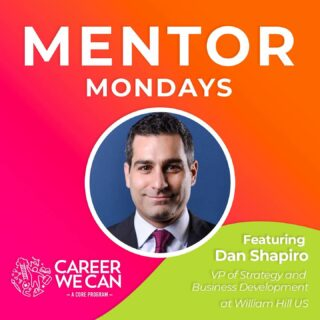 It's time for another Mentor Monday as we debut our newest installment in our Career We Can virtual interview series on IGTV and YouTube! 📺 Today we talk to Dan Shaprio about his career journey working as a leader in the gaming industry. He shares great insights from his experience at the leading sports betting company in America. Check out his advice for anyone looking to get started with a career in the gaming industry. #BeAMentor #CareerWeCan #MentorMondays #WorkHard #BeKind #DoGoodThings #leadershiplasvegas